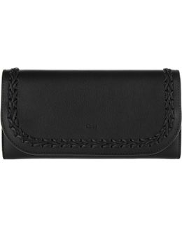 Long Portefeuil Calf Leather Black