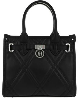 American Icon Mini Tote Quilted Black