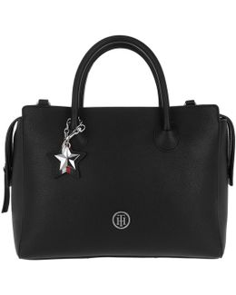 Charming Tommy Satchel Black