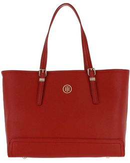 Honey Medium Tote Tommy Red