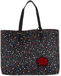 Super Tommy Tote Star Print Star Print/ Tommy Red