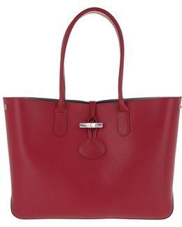 Roseau Sakura Shopper Red