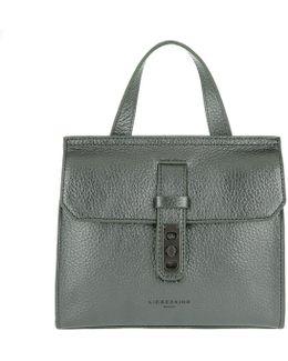 Nevada Vintage Handle Bag Rock Grey Metallic