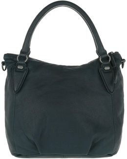 Gina Shoulder Bag Dark Blue