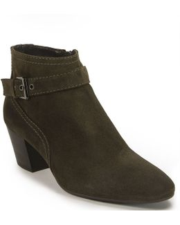 Fawn Suede Ankle Boots