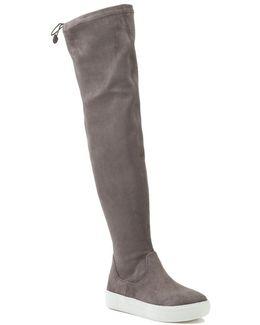 Suede Sneaker Boot