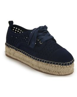 Perforated Espadrille Sneaker