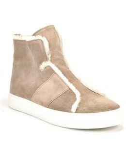 Suede And Fleece Sneaker