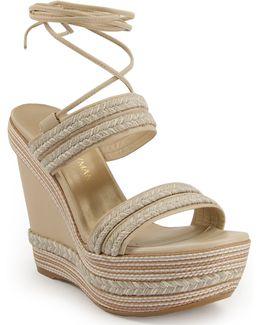 Leg Wrap Sandal