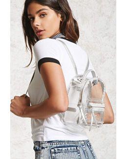 Clear Medium Backpack