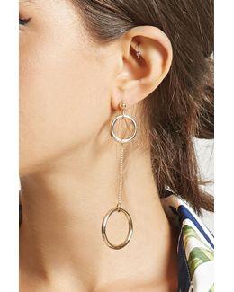 Linked Drop Earrings