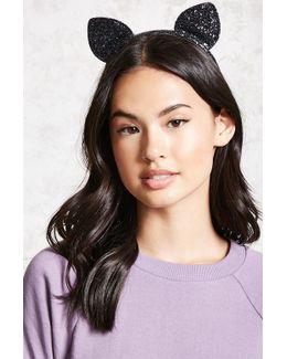 Glitter Cat Ear Headband