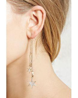 Drop Star Earrings