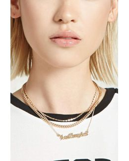 Layered Los Angeles Necklace