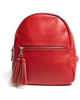 Tassel Mini Backpack