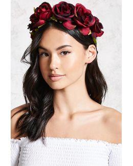 Floral Crown Headwrap