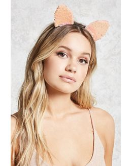Sequin Cat Ear Headband