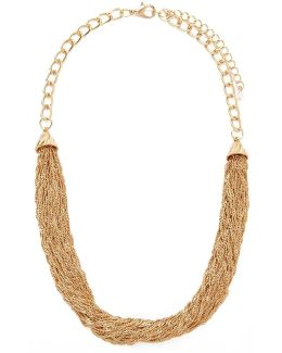 Draped Singapore Chain Necklace