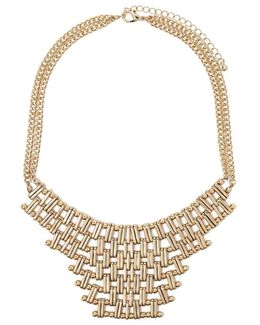 Chain Link Statement Necklace