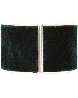 Faux Fur Hinge Bracelet