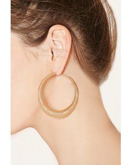 Spring Hoop Earrings