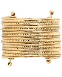 Textured Layer Cuff Bracelet