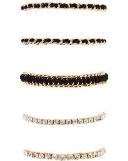 Wrapped Chain Bracelet Set