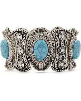 Faux Stone Stretch Bracelet