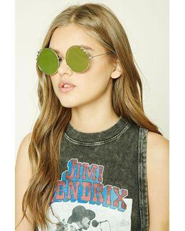 Star Round Sunglasses