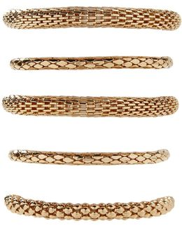 Tube Chain Bracelet Set