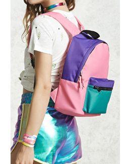 Colorblock Mini Backpack