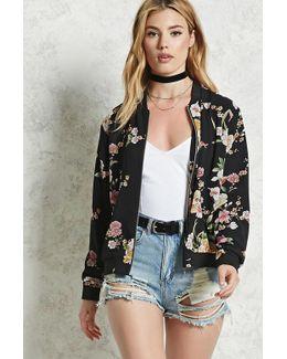Contemporary Floral Jacket