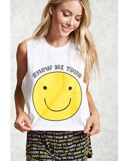 Show Me Graphic Pyjama Set