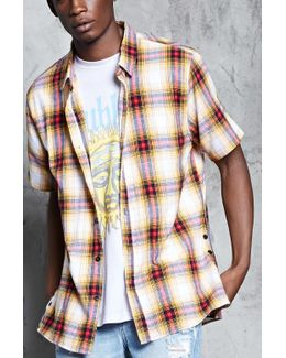 Vented Flannel Shirt