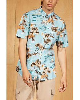Artistry In Motion Tropical Print Shirt