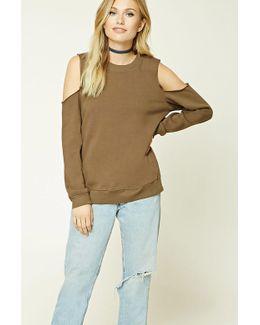 Contemporary Raw-cut Sweatshirt