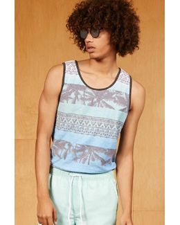 Ocean Current Abstract Tank Top