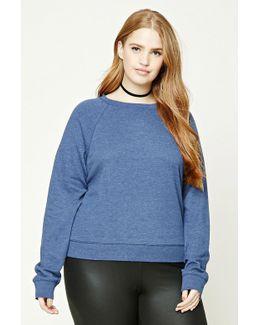 Plus Size Raglan Sweatshirt