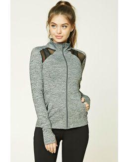 Active Marled Knit Jacket