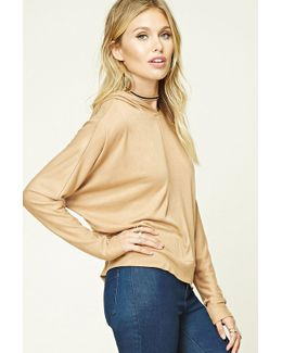 Contemporary Hooded Boxy Top
