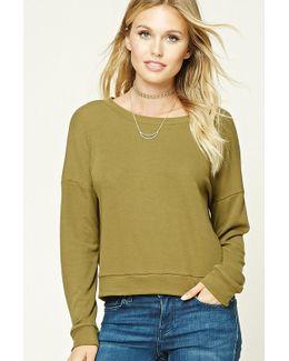 Contemporary Boxy Sweatshirt