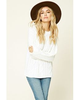 Cable Knit Jumper Top