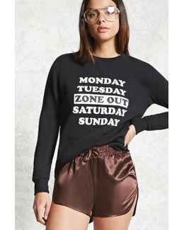 Blah Graphic Sweatshirt