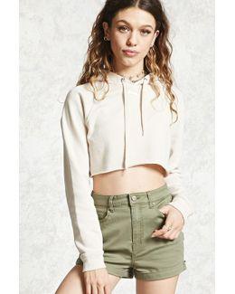 Cuffed Woven Shorts