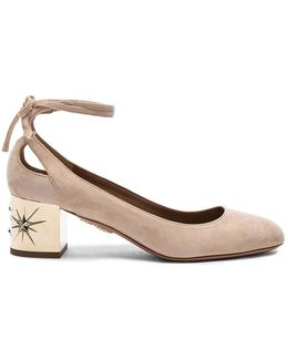 Suede Trinity Star Heels