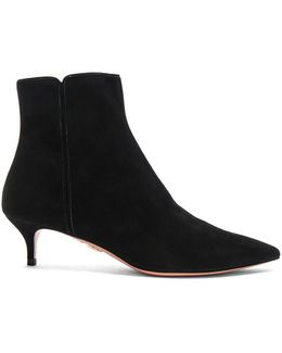 Suede Quant Booties