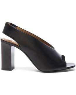 Abbie Leather Heels