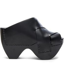 Leather Callie Heels