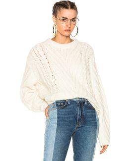 Jonas Sweater In White