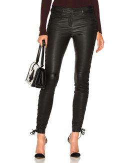 Dent Pants In Black